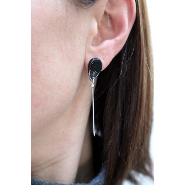 Boucles d'oreilles dentelle