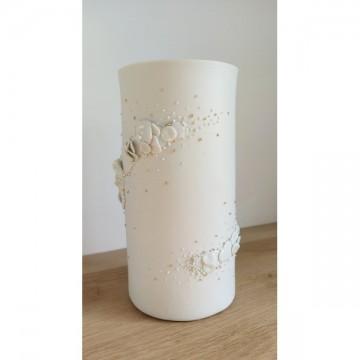 Vase porcelaine et or
